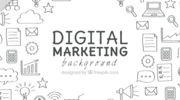 background-with-marketing-doodles_23-2147584764